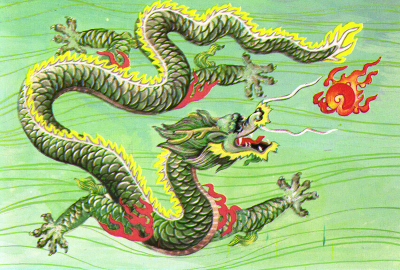 Chinese Dragons - dragon mythology of China