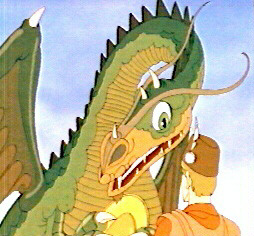 Flight of the Dragon Cartoon Movie 1982